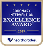 Healthgrades 2019 Coronary Intervention Excellence Award