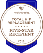 Health Grades Total Hip Replacement Five Star Recipient