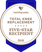 Health Grades Total Knee Replacement Five Star Recipient