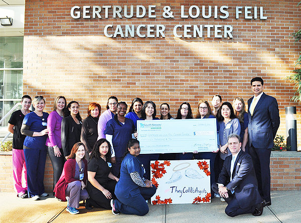 South Nassau Supporters Donate $56K to Feil Cancer Center To Support Patients Undergoing Treatment